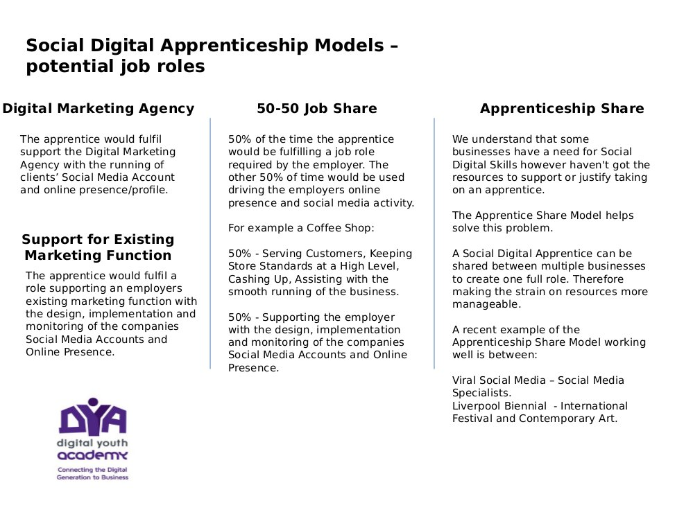 Digital Apprenticeships from Liverpool Community College